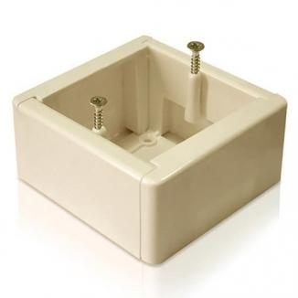 Наружная монтажная коробка для терморегулятора (бежевая)