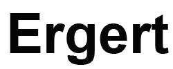 Ergert
